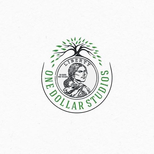 Logo concept for One Dollar Studios