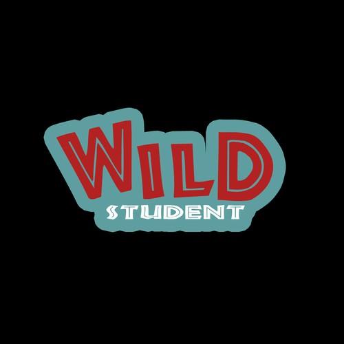 Design a premium logo for new university dating app Wild Student