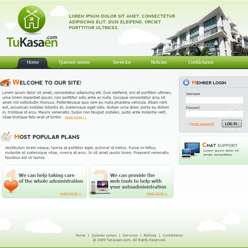 Website Design - Tukasen