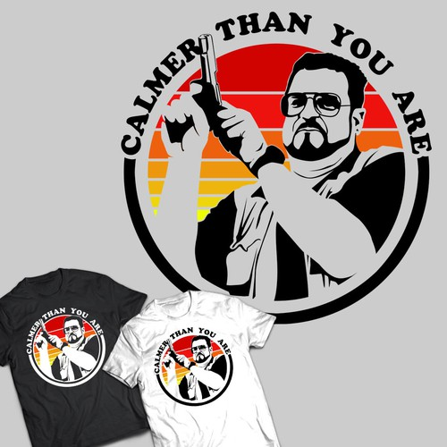 The Big Lebowski shirt design