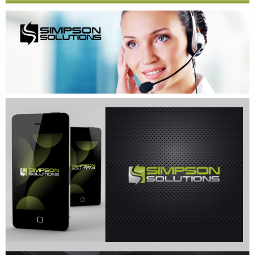 New logo and business card wanted for Simpson Solutions