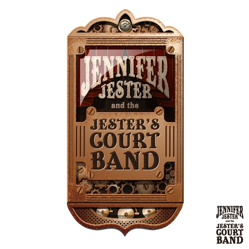 We need a great new logo for Jennifer Jester and the Jester's Court Band!