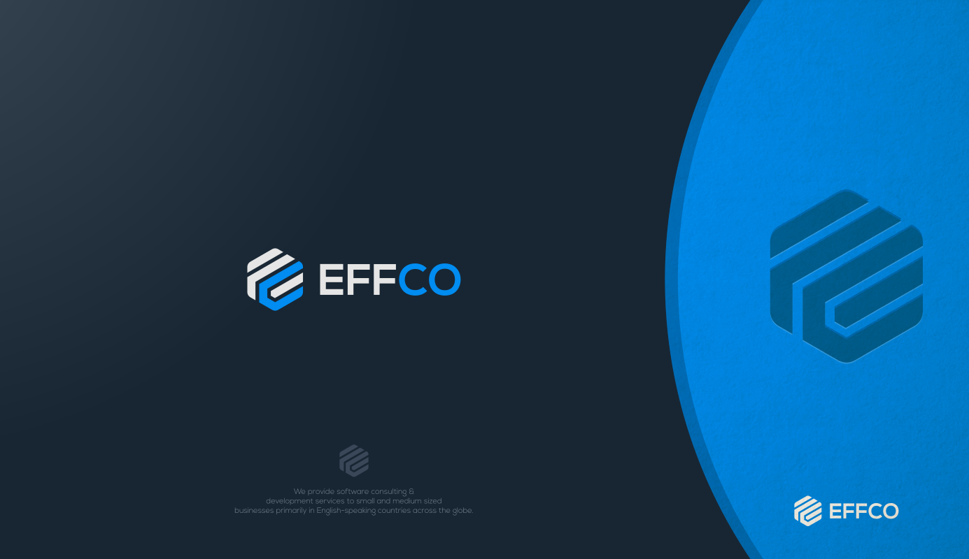 Create a professional brand identity package for Effco Software Ltd