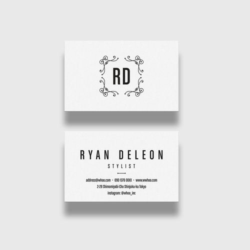 Business Card for Stylist