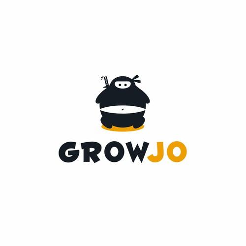 Design a playful ninja logo