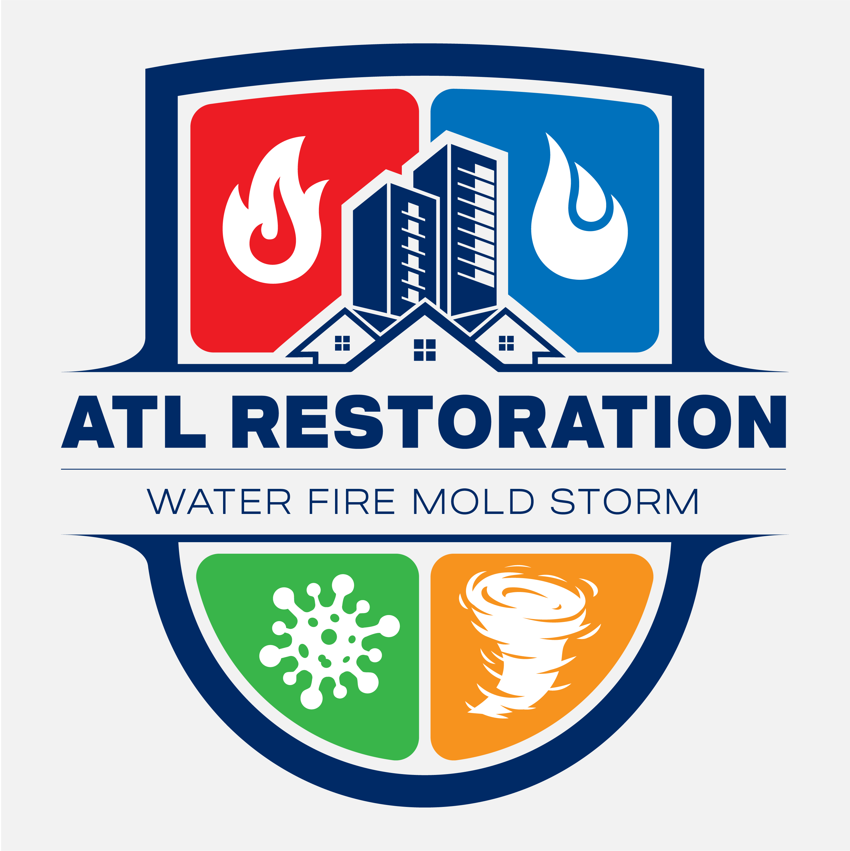 We need a powerful design for emergency restoration company