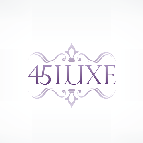 Create the next logo for 45 Luxe