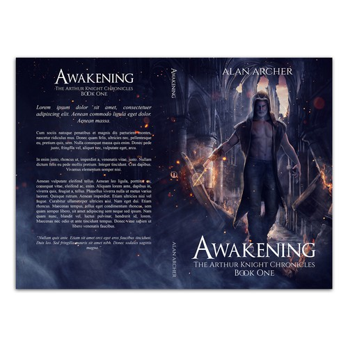 Book cover for Awakening by Alan Archer