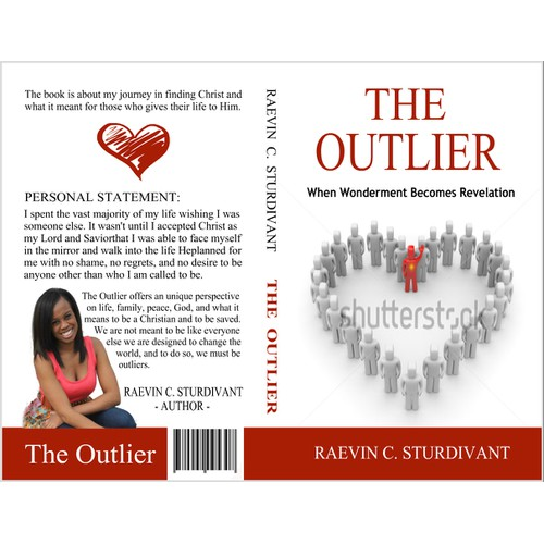 Create a unique book cover for a spiritual book.