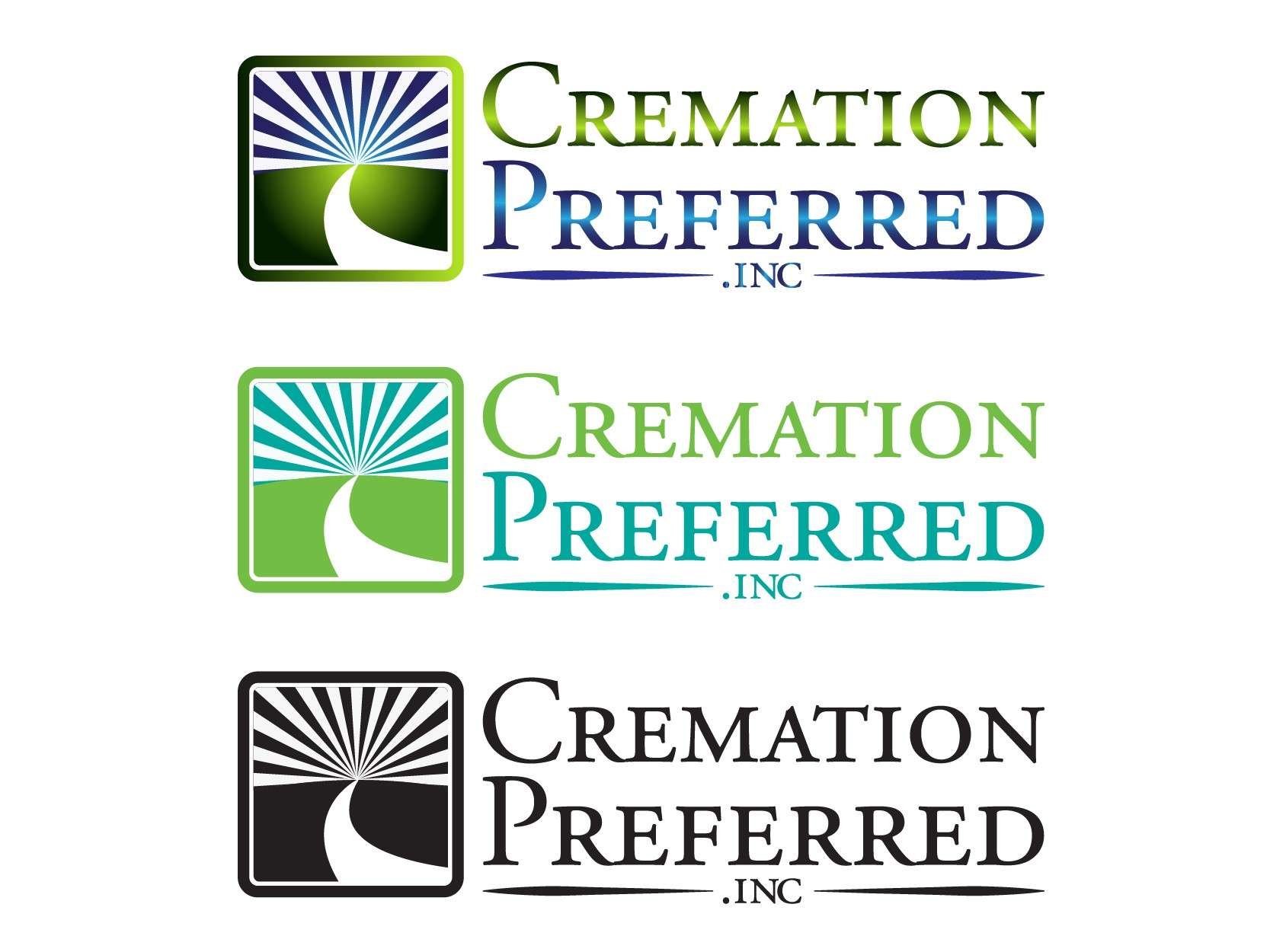 Simple/Direct Cremation Business Logo