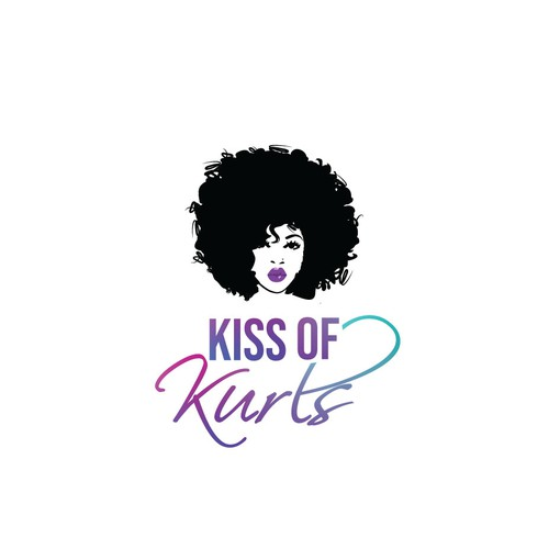 Logo for a hair care line