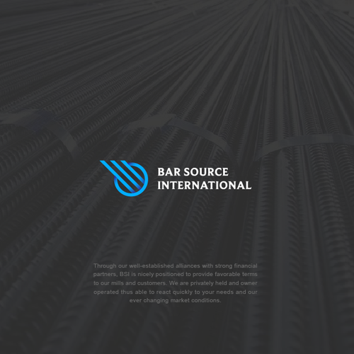 Logo design for BAR SOURCE INTERNATIONAL