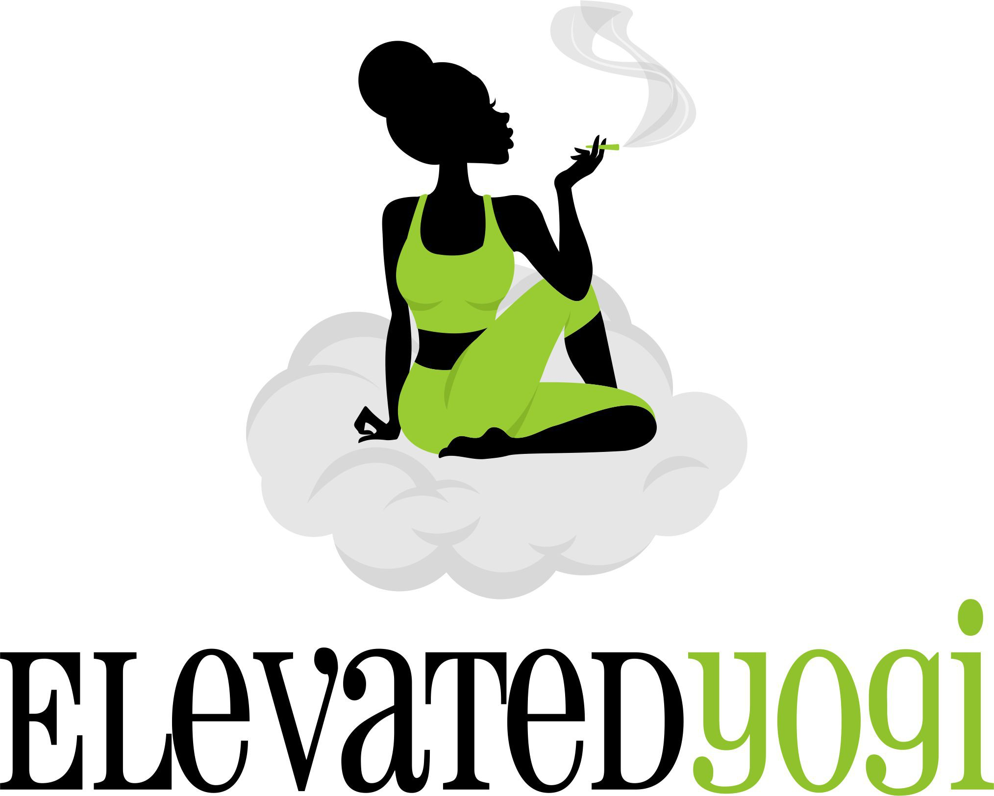 Cannabis enhanced yoga class needs a quality logo without stretching the budget