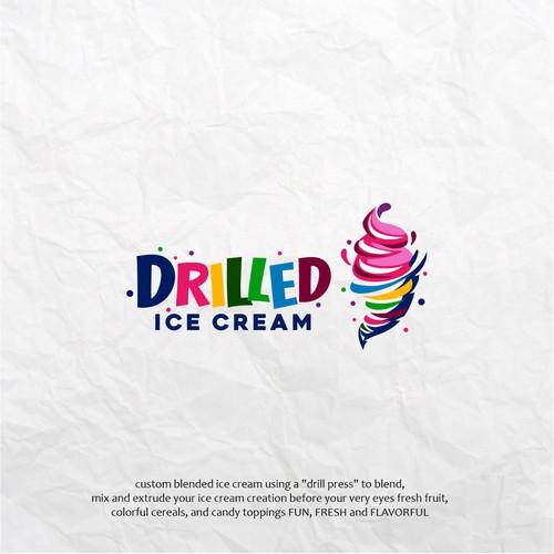 Fun Ice Cream Logo