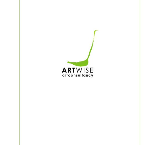logo for art consultant