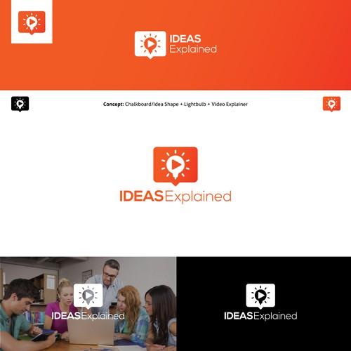 Ideas Explained Logo Design