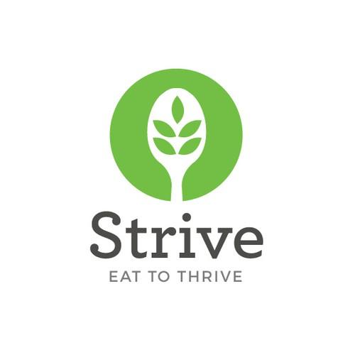 Logo for plant-based food business