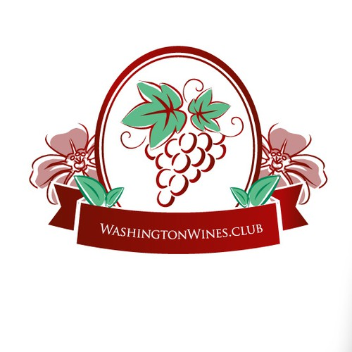 Create a logo for Washingtonwines.club