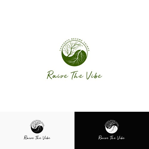 Winning logo concept for Raise the Vibe