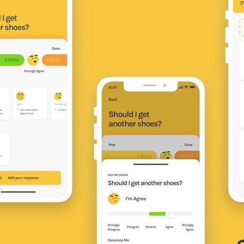 Pro & Cons App Design