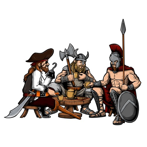 Viking Tea Party