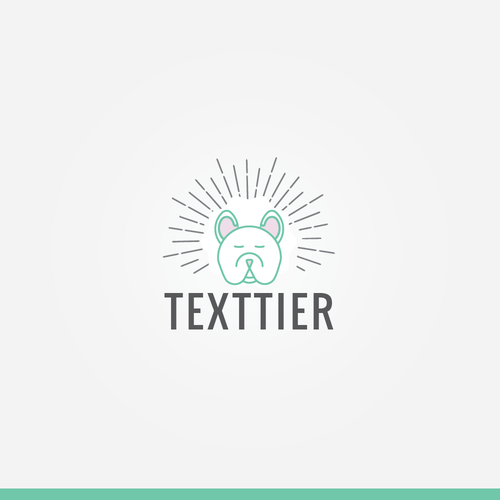 Cute terrier logo