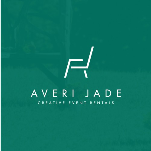 Simple mark for Averi Jade event rentals