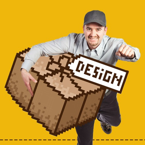 Pixel art and graphic design for 99designs