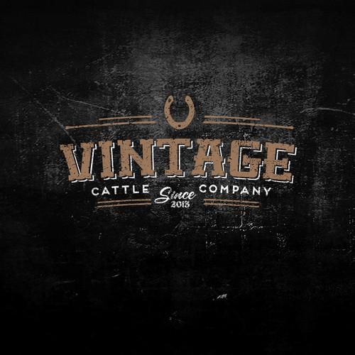 Vintage Farm Logo Creation