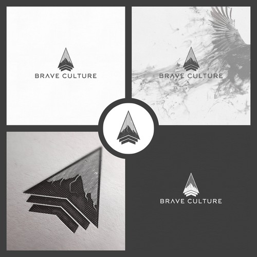 Logo for Brave Culture Fitness