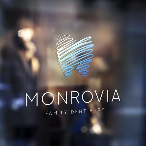 Monrovia Logo design