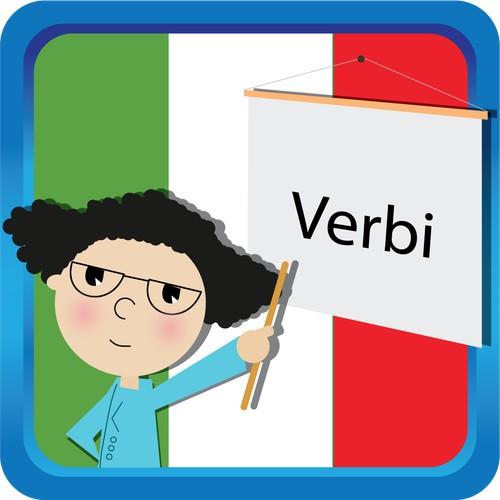 Please create an icon for the Italian verbs iOS app