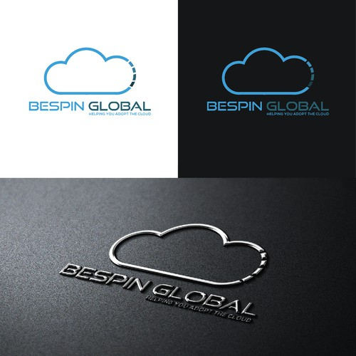 Modern Logo Concept For Bespin Cloud