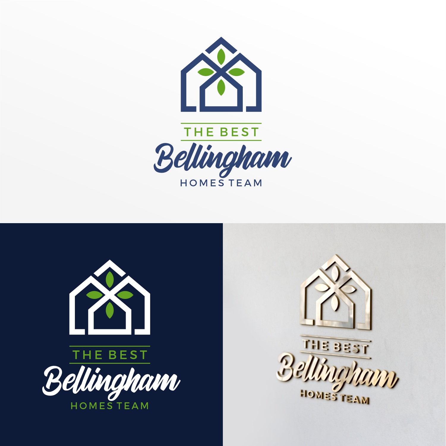 Seeking clean, classy design for a high performing local real estate team