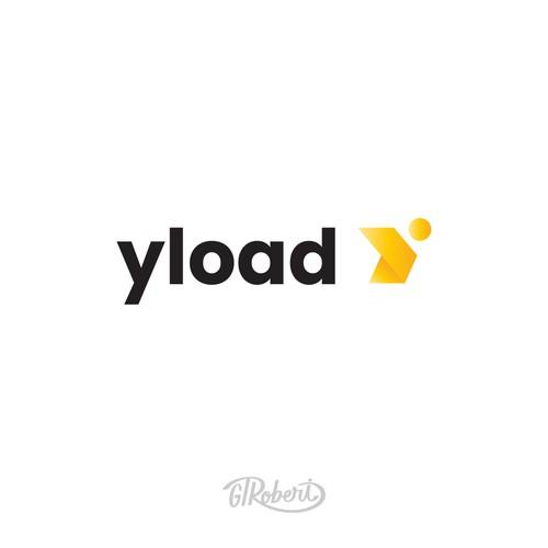 Yload logo design