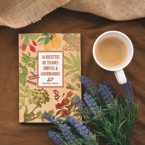Herbal tea recipes cover
