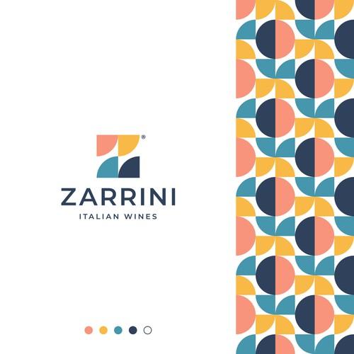 Mosaic Z Letter Logo