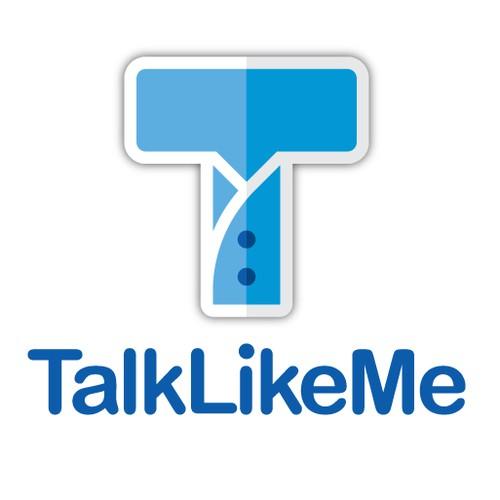 Create an original logo for Talk Like Me—A social language learning platform