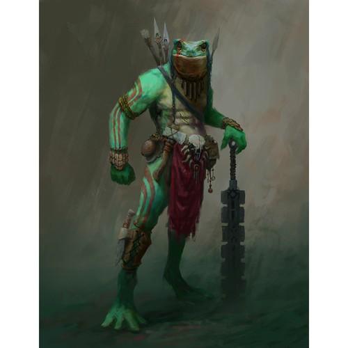 guerrero rana