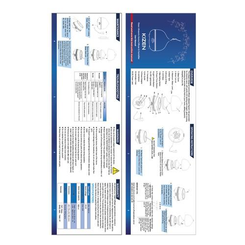 Manual redesign for KIZEN