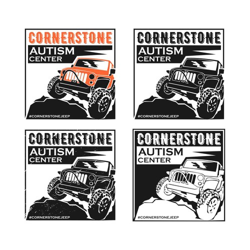 Sticker concept for #cornerstonejeep