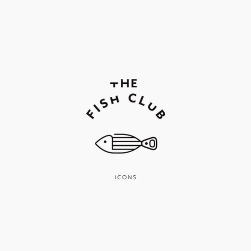 The Fish Club Icons