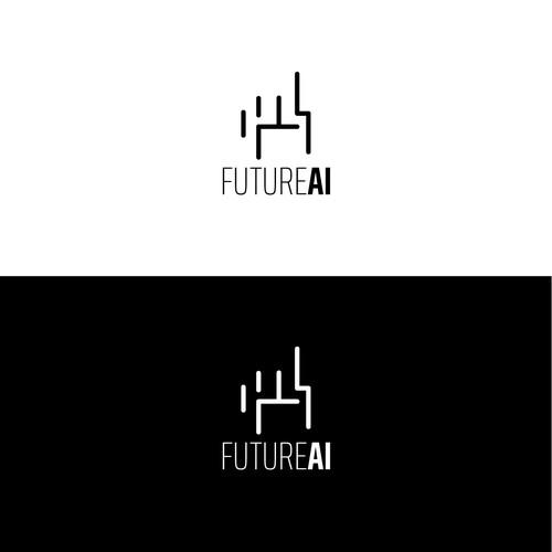 Future AI logo concept