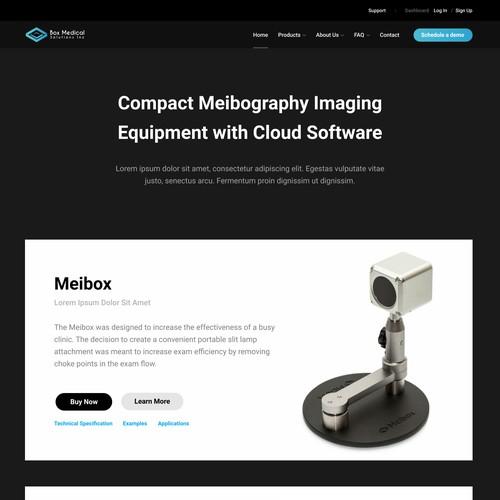 Eye Imaging Equipment Website