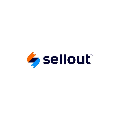 Modern logo design for Sellout