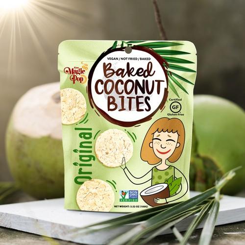 Baked Coconut Bites