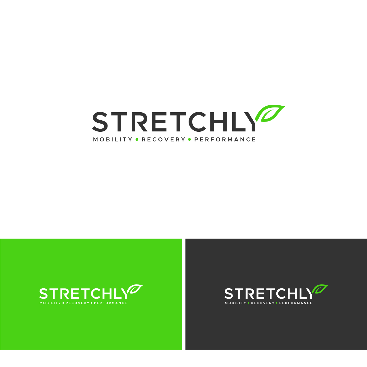 Design a modern logo for the hottest trend in wellness; Stretching.