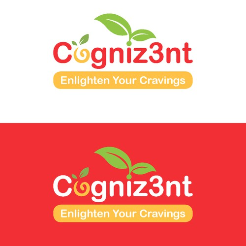 Simple and clean logo for a health food company