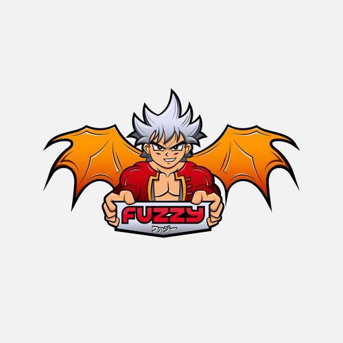 Anime inspired logo