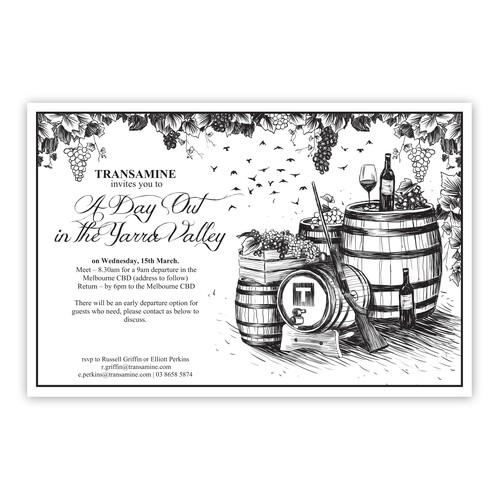 Winery Invitation